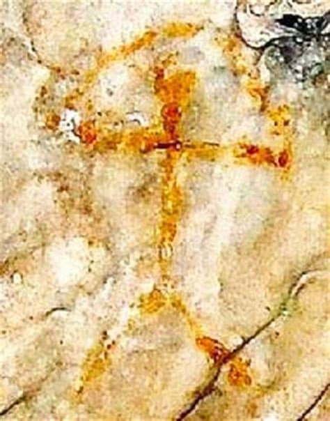 Peinture rupestre de l'indalo